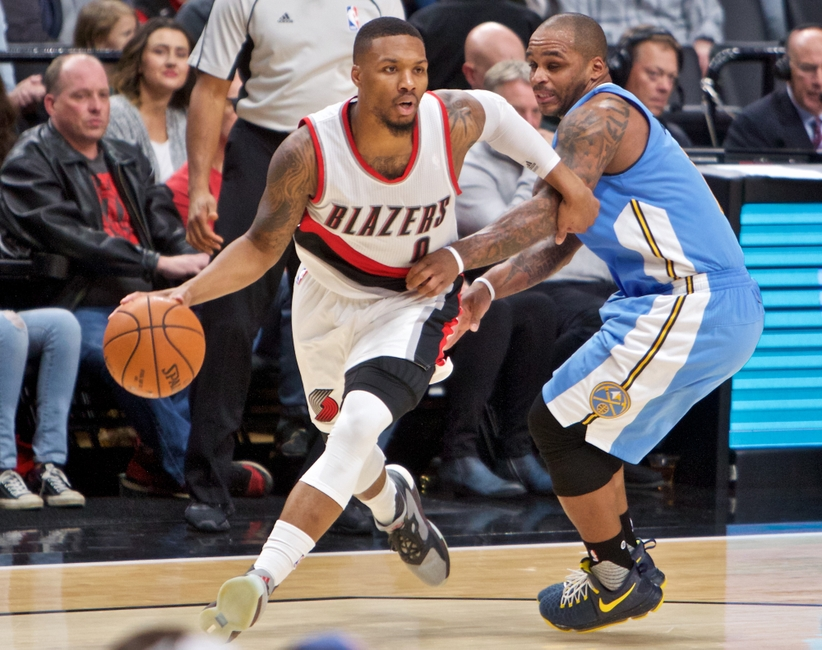 Portland point guard Damian Lillard proved to be a viable FanDuel NBA option in his first game back from injury.