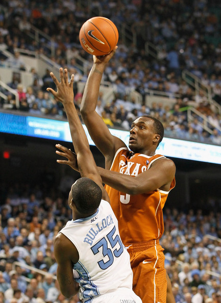 Reggie Bullock and Jordan Hamilton - Texas v North Carolina