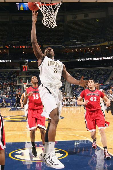 Donte' Williams and Festus Ezeli - SEC Basketball Tournament - Quarterfinals