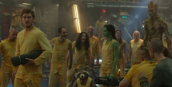 The Guardians of The Galaxy in Prison