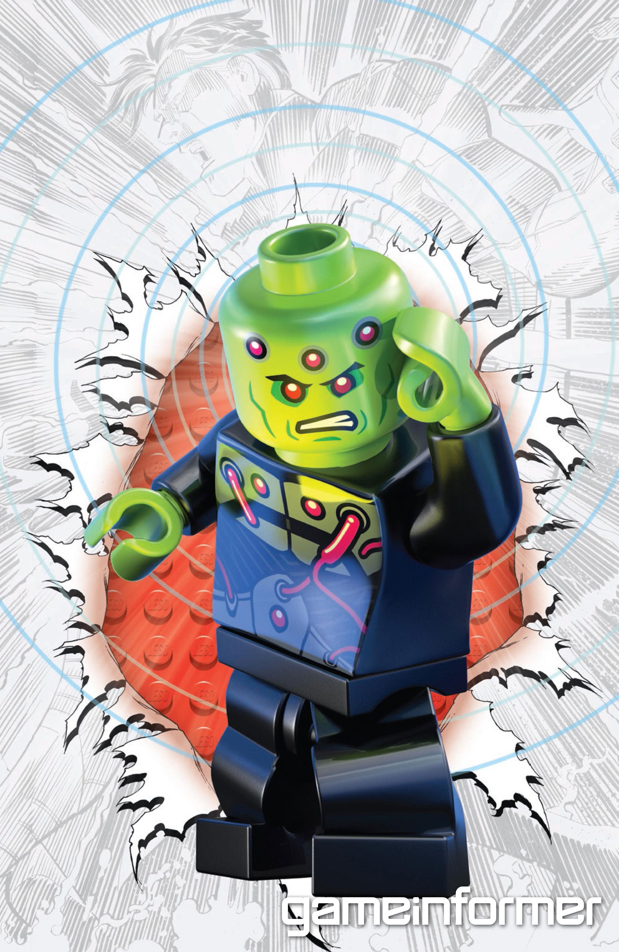 DC Comics Announces LEGO Variant Covers