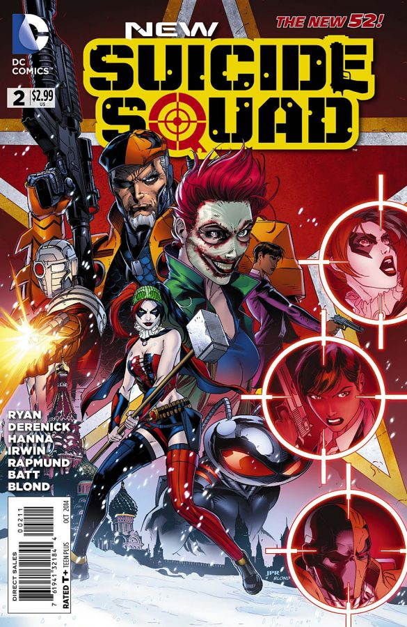 New Suicide Squad #2 Cover