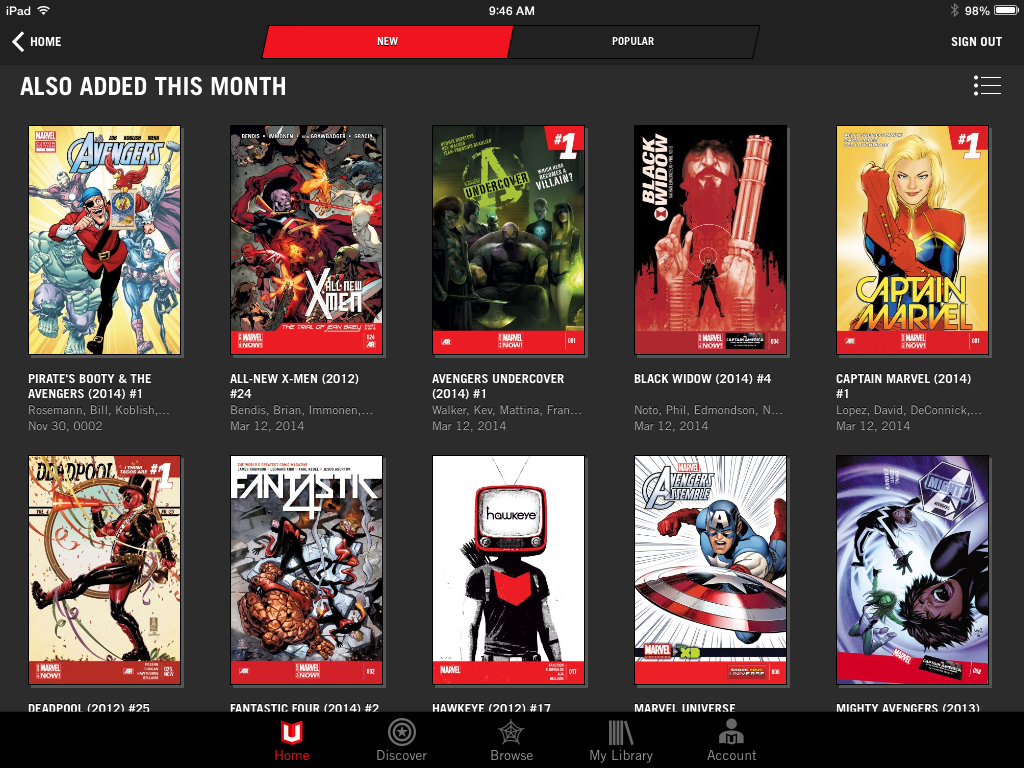 Learn marvel history discover marvel unlimited s new features