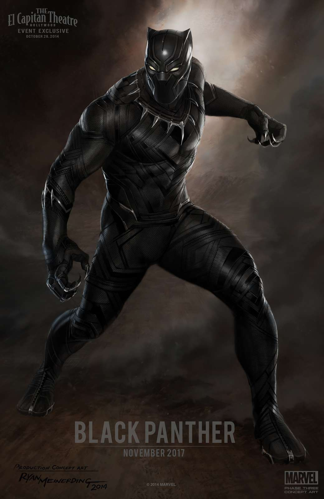 Black Panther - Rounding Out The Cast