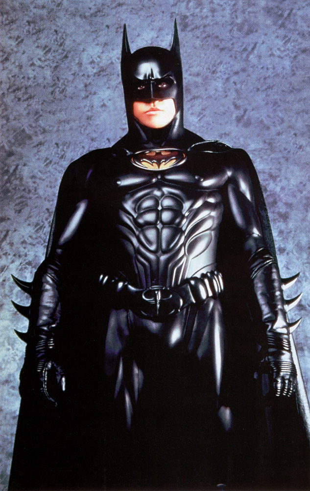 had his own ideas about what Batman should look like  and Val Kilmer    Val Kilmer Batman Suit