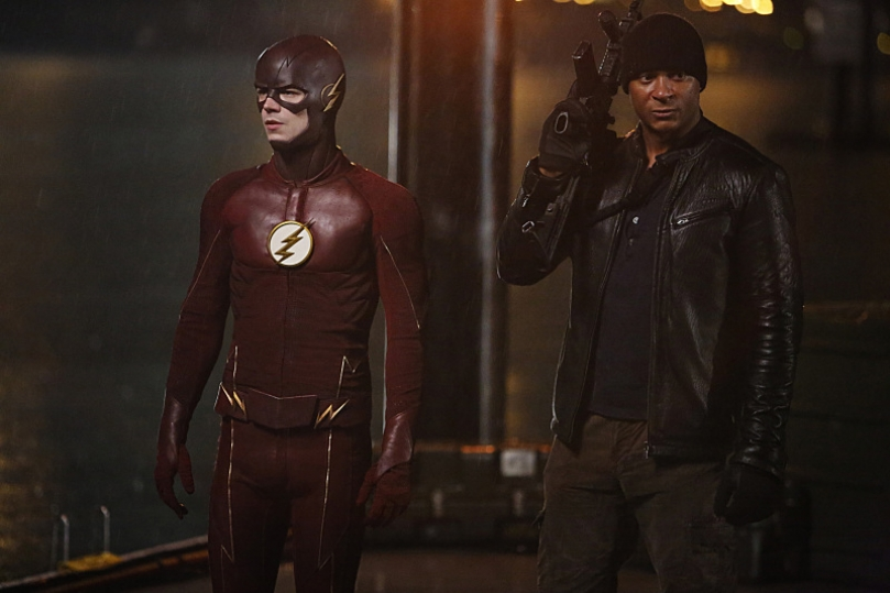 King Shark Attacks in 'The Flash' Season 2 Trailer