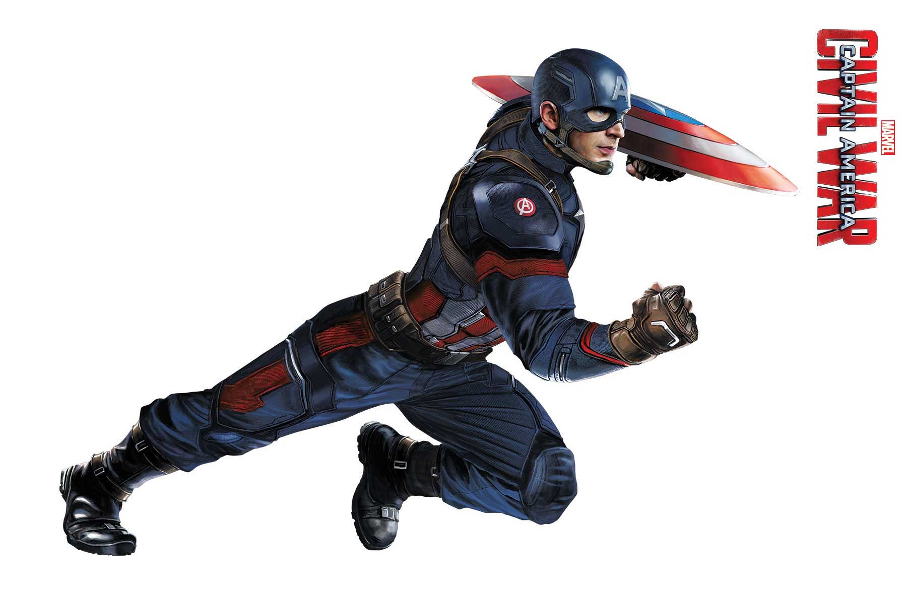 Captain America: Civil War - Heroes Ready For Action