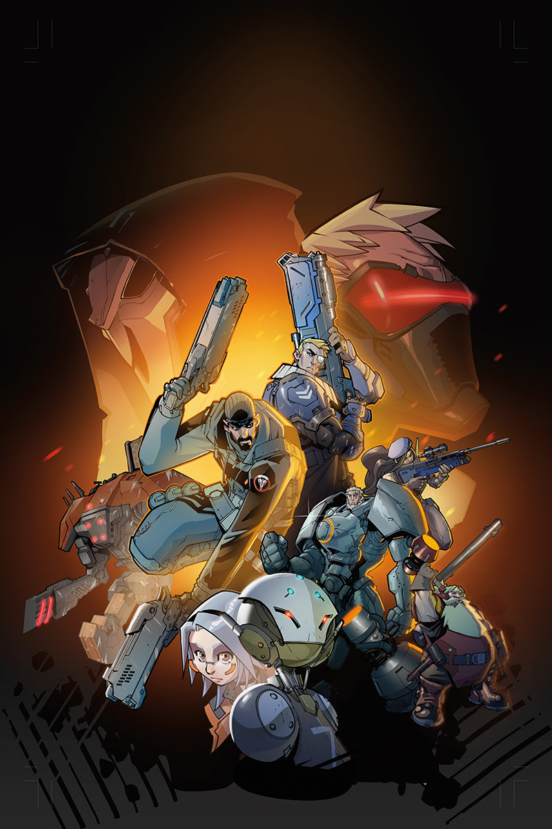 Character Design Graphic Novels : Overwatch blizzard partners with dark horse comics