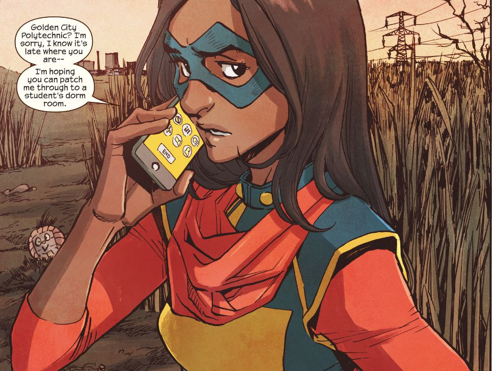 Ms. Marvel #16 Review: Protecting Secrets From Doc.X
