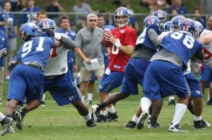Giants Training Camp
