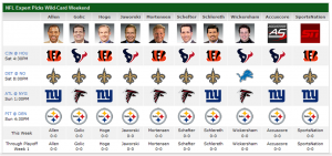 expert picks wild card