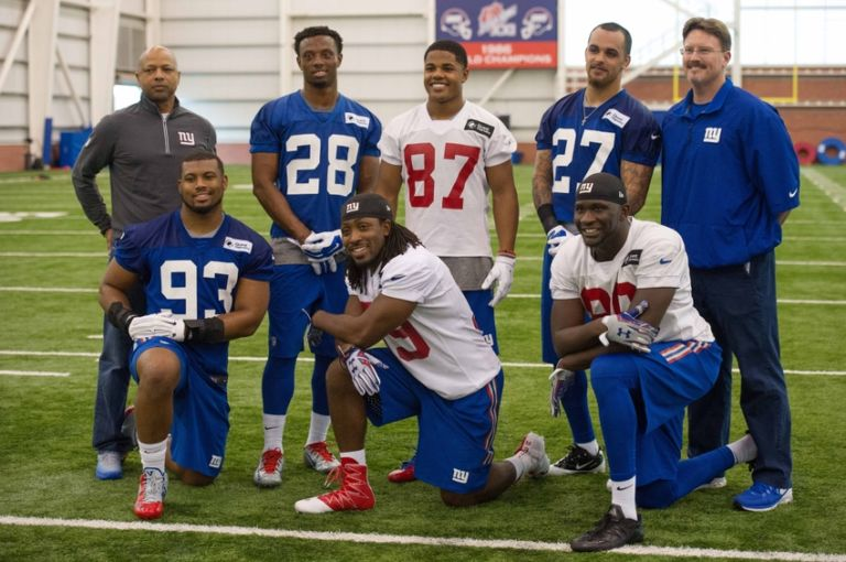 Darian-thompson-eli-apple-jerry-reese-sterling-shepard-b.j.-goodson-nfl-new-york-giants-rookie-minicamp-1-768x510