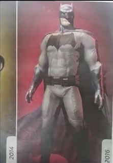 Ben Affleck Batsuit full shot