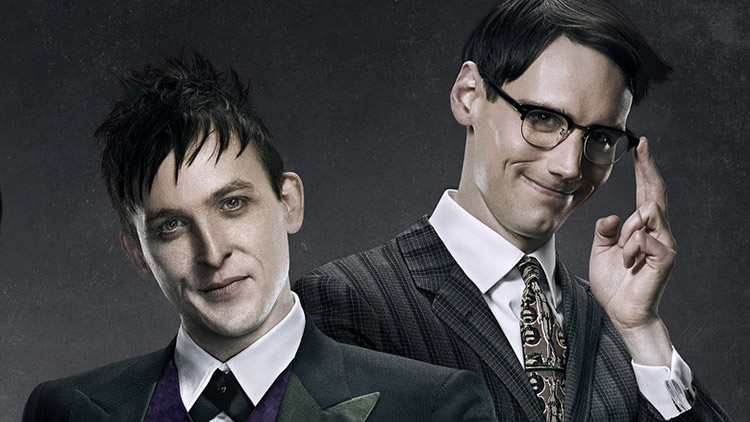 Image result for gotham penguin and riddler