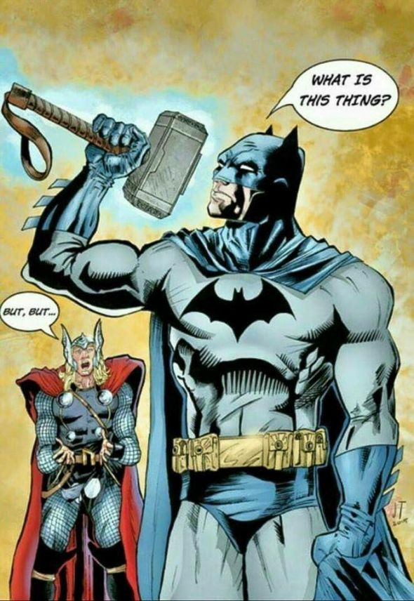 Could Batman Pick Up Mjolnir?
