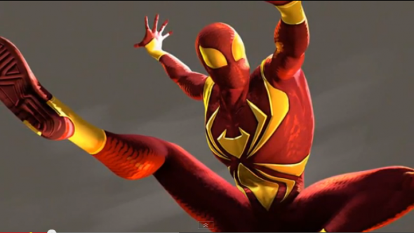 Iron Spider suit from the Amazing Spider-Man 2 video game