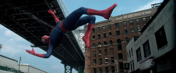 Spider-Man viral website Daily Bugle virally advertised via an Easter-egg in Amazing Spider-Man 2