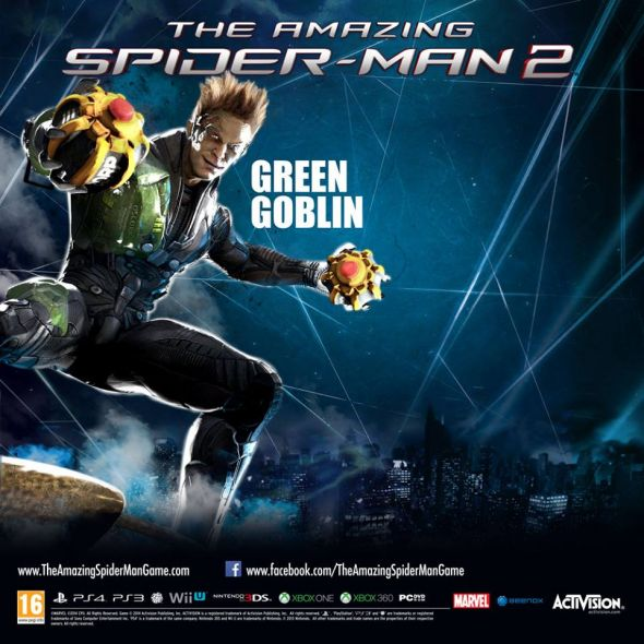 Harry Osborn aka Green Goblin