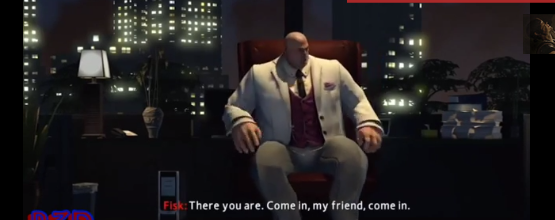 Kingpin greeting a surprise villain and hinting at an Amazing Spider-Man 3 video game