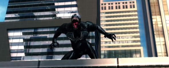 A screenshot of Venom from the Amazing Spider-Man 2 mobile game?