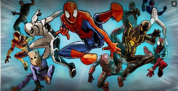 Spider-Man Unlimited Spideys