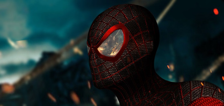 Spider Man Movie Screenshots Morales Spider-man Movie