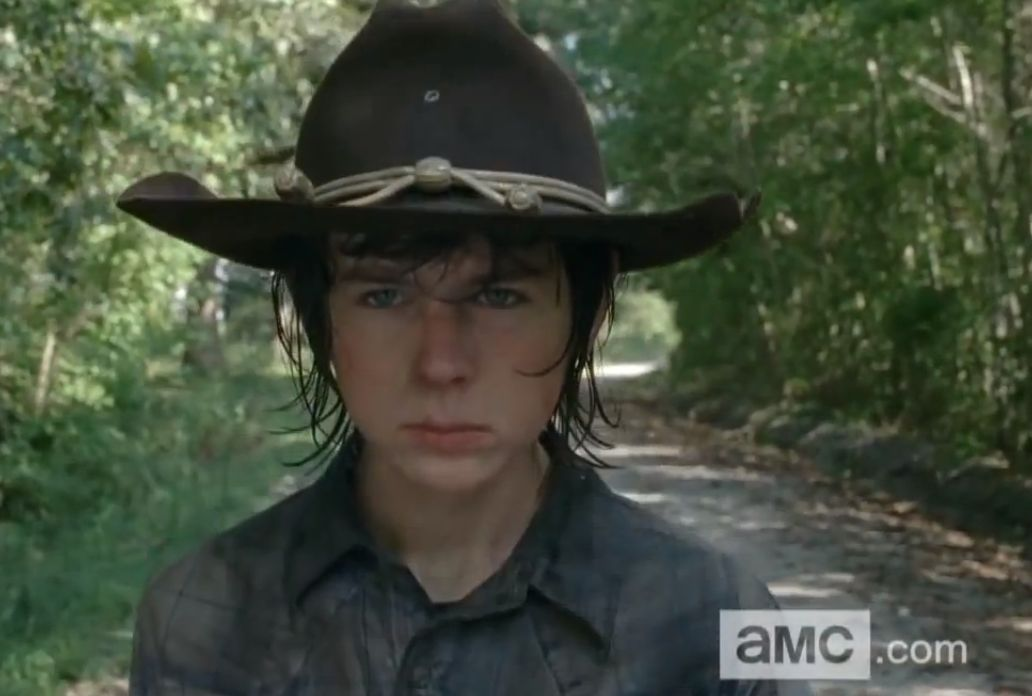 chandler riggs  a personal look at carl grimes