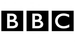 Logo from the BBC Network Television company.