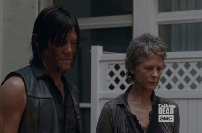 Walking Dead Norman Reedus talks about Daryl and Carol possible hookup