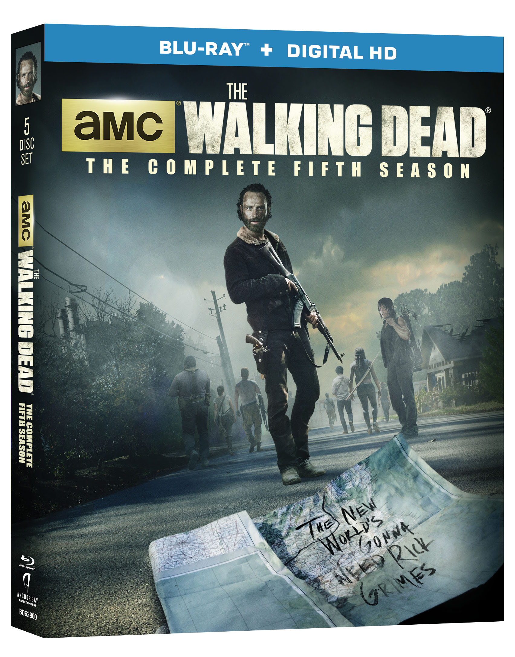 walking dead staffel 5 bluray