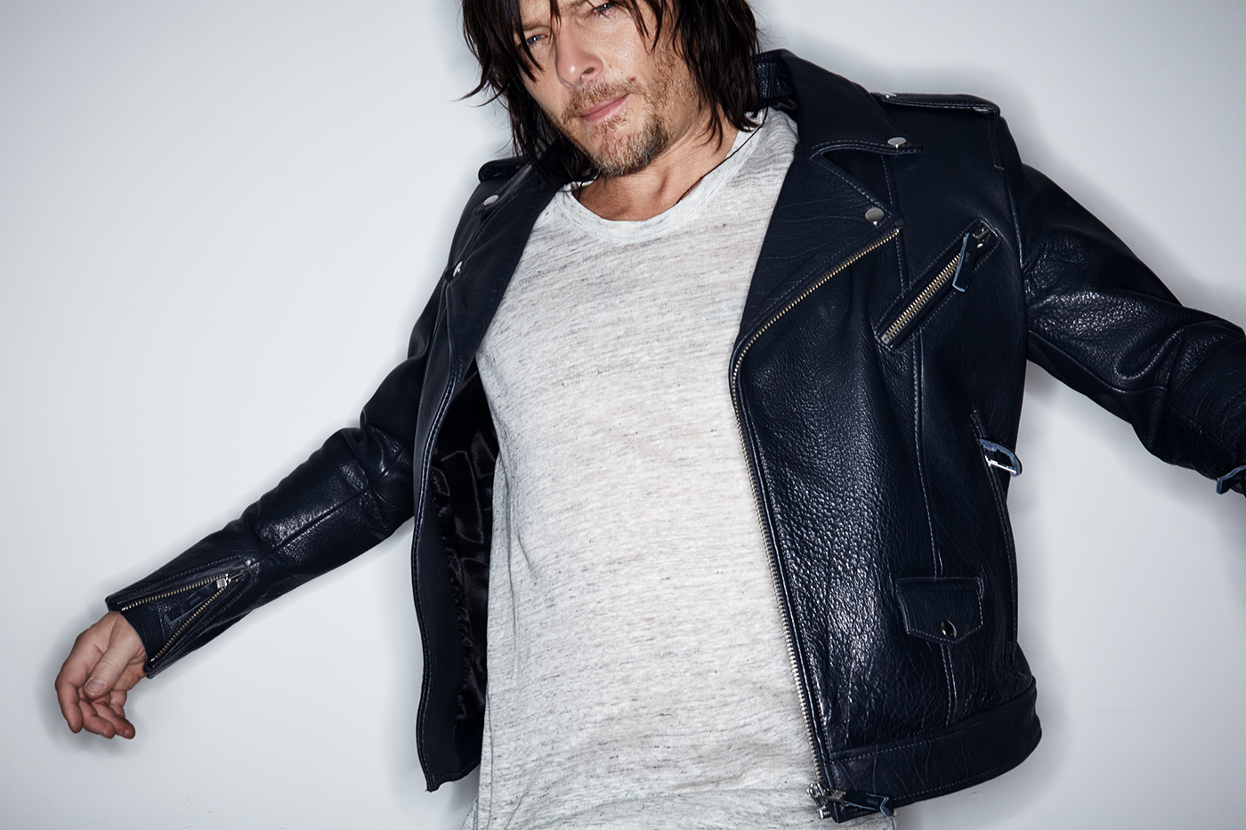 Norman Reedus of The W...