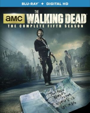 The Walking Dead Season 5 DVD/Blu-Ray cover.