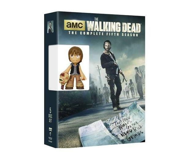The Walking Dead season 5 DVD set with bonus - Walmart.com