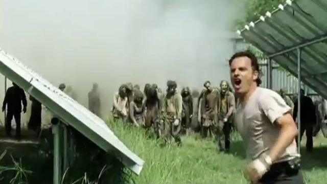 how to start the train walking dead