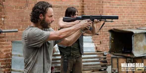 The Walking Dead actors train with real guns and weapons