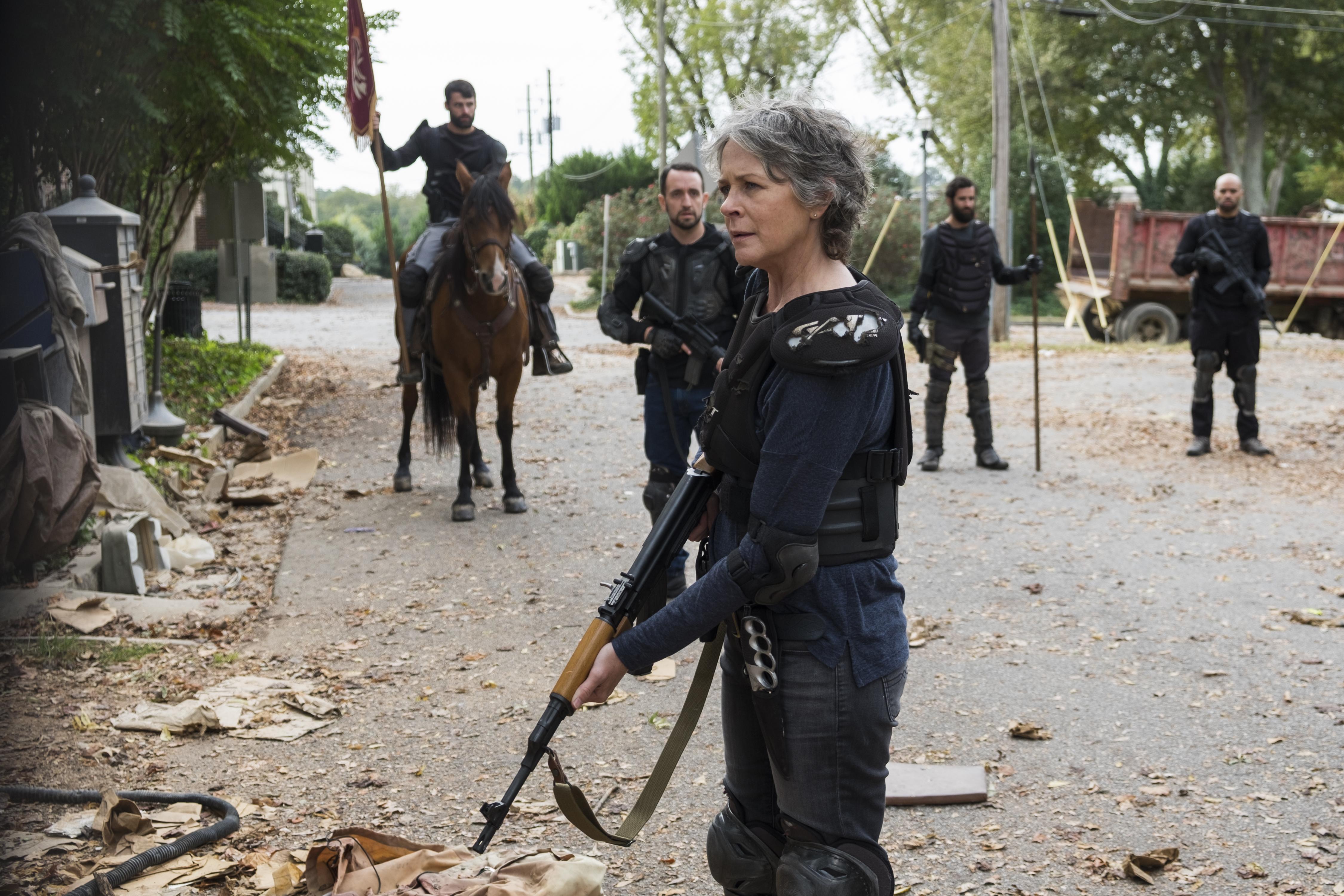 Walking Dead: The Walking Dead Season 8 Starts Filming As A WGA Strike Looms