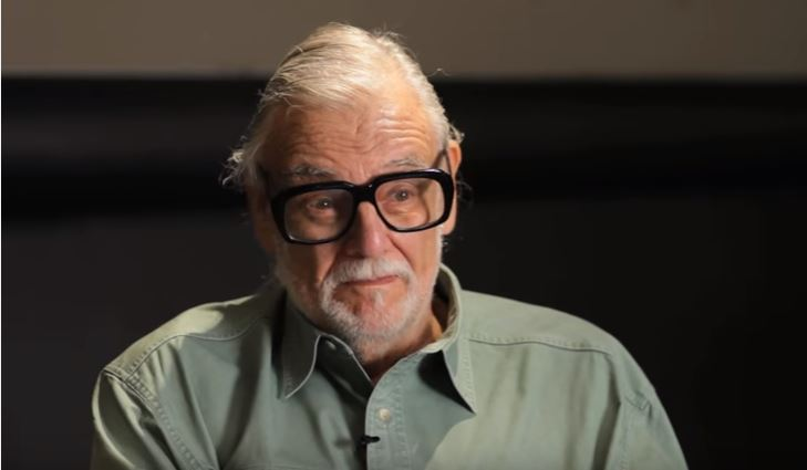George A. Romero getting a star on Hollywood Walk of Fame