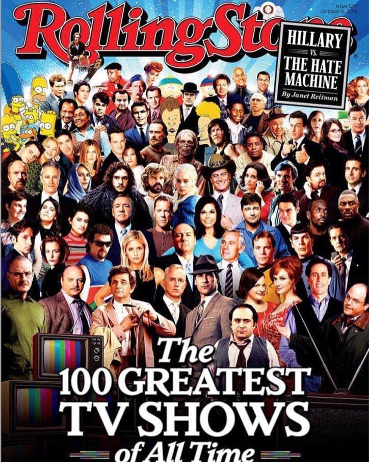 100 Top Model Search: The Walking Dead Lands On Rolling Stone's 100 Greatest TV