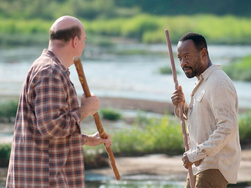 The Walking Dead Morgan S Sticks As A Symbol Of His Journey