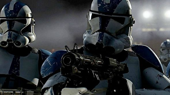 Clonetroopers from Star Wars: Episode III
