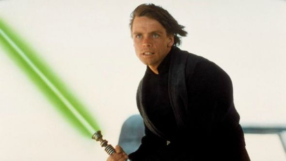 Jedi Knight Luke Skywalker, from Star Wars: Episode VI