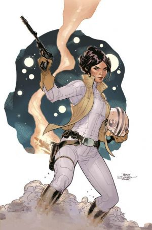 Leia Marvel Cover