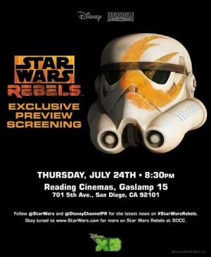 SDCC Rebels Screening