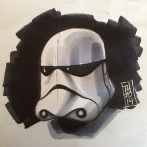 Episode VII Trooper Sketch