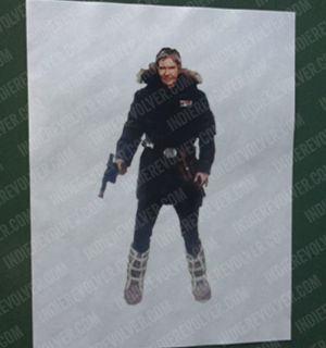 Han Snow Coat Concept Art