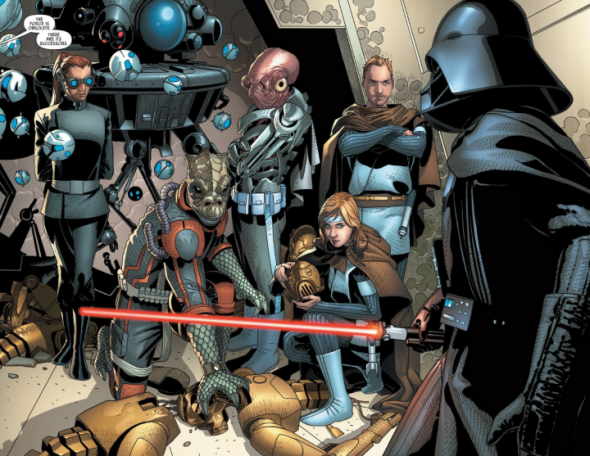Darth Vader Canon Vs Ares Dceu: 5 New Canon Characters From Marvel's Star Wars Comics