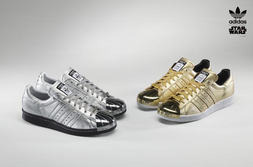 Adidas presents Star Wars customizable shoes