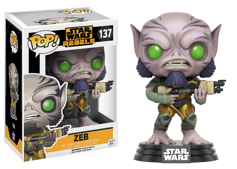 Star Wars Rebels Funko Pop Figures Are Coming This Fall