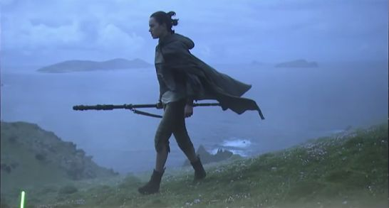 Daisy Ridley's Rey Channels Her Inner Force in 'Star Wars