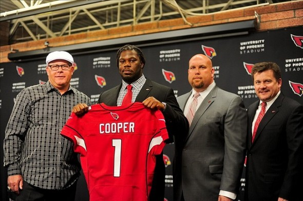 Jonathan Cooper drafted